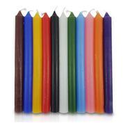 Vela Quilo Palito Cores Sortidas 1 Kg 28 Velas Coloridas