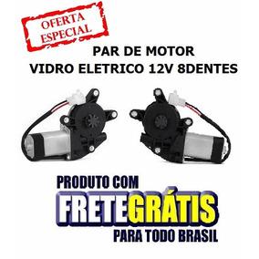 Par De Motor De Vidro Eletrico Mabuchi 12v 8dentes + Frete