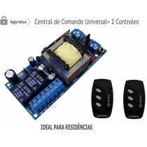 Placa Central Motor Portão + 02 Controle Garen