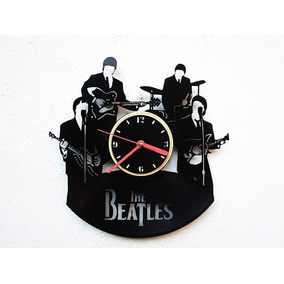 Reloj De Disco Vinilo Vinil Acetato Lp The Beatles