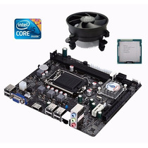 Kit Placa Mãe H61 + Core I5 3470 3.6 Ghz + Cooler Promoção