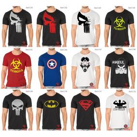 Camiseta Fitness Academia Treinar Musculação,super Herois