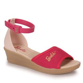 Sandália Infantil Grendene Barbie - 23 Ao 32 - Pink