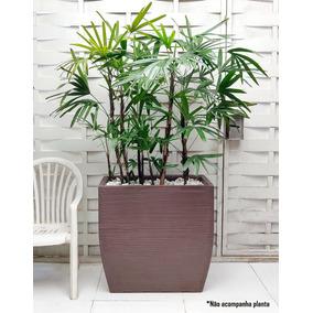 1 Vaso Melhor Q Concreto Cimento Metal Aço Aluminio 80x80