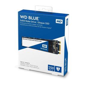 Hd Ssd M2 250gb Western Digital Sata 3 3d Nand 550mb/s