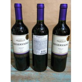 Vinho Chileno Reservado Concha Y Toro Merlot Chile 750ml