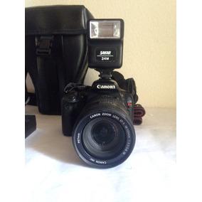 Camara Canon Profesional Réflex T2i-550d Lente18-55mm