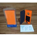 Capa Flip Original Nokia Lumia 830 Cp-627 Carregamento S Fio