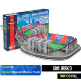 Estadio De San Lorenzo Cancha 3d Maqueta Puzzle Nanostad