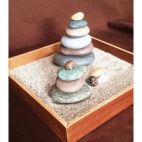 Jardín Zen Con Elementos 100% Naturales