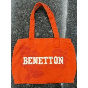 Bolso De Tela Benetton
