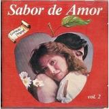 Cd Sabor De Amor Vol 2 Gilbert O