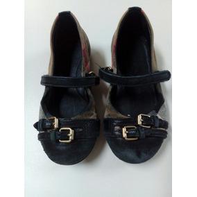 Zapato Para Niña Burberry * La Segunda Bazar