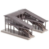 Puente Peatonal Escala N Plataforma Radolfzell - Kit - 5-11