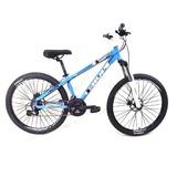 Bicicleta Freeride Hupi Whistler 24v Aro 26 Freio A Disco