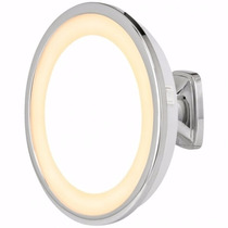 Espelho De Parede Com Luz Ampliação 5x - Visage Lux