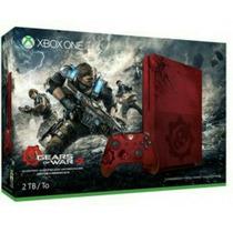 Xbox One S 2tb Slim Gears Of War 4 Microsoft Edicao Limitada