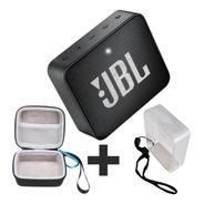 Caixa De Som Jbl Go 2 Portátil Bluetooth Go2 + Case + Capa