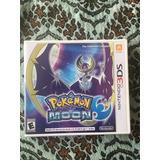 Juego Pokemón Moon Nintendo 3ds Original Pokemon Center Luna