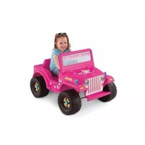 Carro A Baterías Jeep Barbie De Fisher Price. Nuevo.