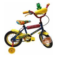 Bicicleta Rodado 12 Nene Niño Rayos C/rueditas Oferta!