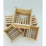 Kit Com 15 Umidades De Cachepôs De Pinus