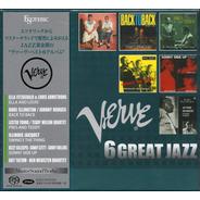 Disco Sacd Cd Box Verve 6 Great Jazz  Esoteric Series