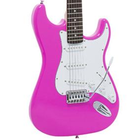Guitarra Giannini Strato Sonic Rosa