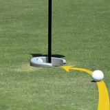 Hoyo Entrenador Para Putt De Golf Portatil Trainer Oficina