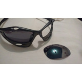 077b5cdb6e4c5 Oakley Black Iridium Racing Water Jacket Originais