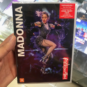 Madonna Rebel Heart Tour Dvd Novo Lacrado Pronta Entrega