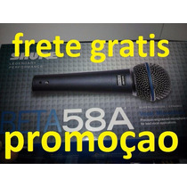 Shure Beta 58 Microfone Profissional (amazon Usa)