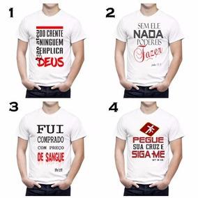5 Camisas Evangelica Biblica Moda Gospel Frases Da Biblia
