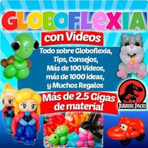 Globoflexia Megakit Aprende Hacer 100figuras+videos 2.5gigas