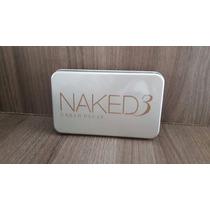 Kit Pinceis 12 Peças Naked 3 Pronta Entrega Maquiagem Base