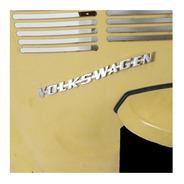 Emblema Volkswagen Tampa Traseira Fusca Alemão - Restaurakar