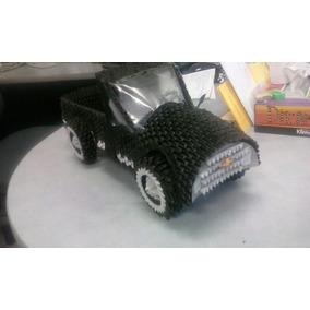 Camioneta Tipo Chevrolet De Origami En 3d
