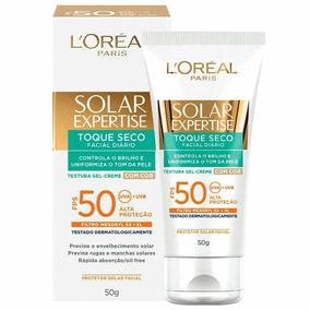 Protetor Facial Loréal Paris Solar Expertise Fps 50 50g