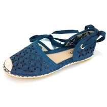 Sandalias Para Mujer Capa De Ozono 33393-1 Textil Azul 2-6