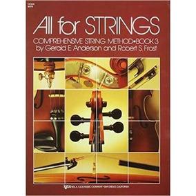 All For Strings Violino Vol 1 Vol 2 Vol 3 - Arquivo Em Pdf