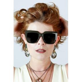 Oculos Gatinho Quadrado - Óculos De Sol no Mercado Livre Brasil 34896e13bb