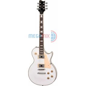 Guitarra Golden Les Paul Gld 150c Wt Branca Frete Grátis