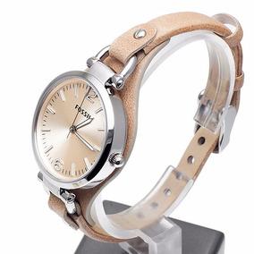 Reloj Fossil De Dama Es2830 Correa En Piel Elegante Bonito