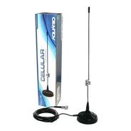 Kit Completo Antena Movel De Celular 7dbi Gsm 3g + Adaptador