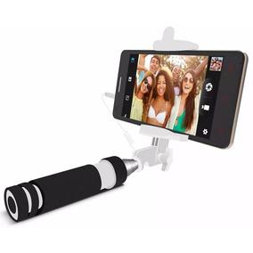 Mini Monopod Selfies Con Cable Audio Foto Android Iphone Mdj