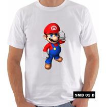 Camisetas Super Mario Bros Peach Yoshi Toad Bowser