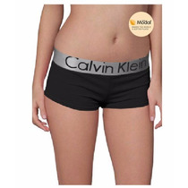 Calcinha Short Feminino Calvin Klein Kit 10 Pçs Envio 24 Hs