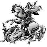 Tatuagem Grande São Jorge ... Conheça A História !