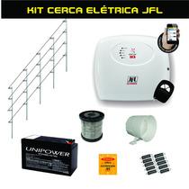 Kit Cerca Elétrica Completa Jfl Ecr 18 Para 60 Metros