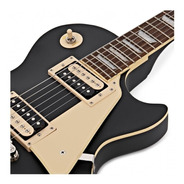 Guitarra EpiPhone Les Paul Classic Worn Ebony By Gibson